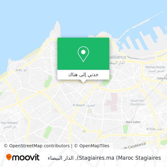 خريطة Stagiaires.ma (Maroc Stagiaires)