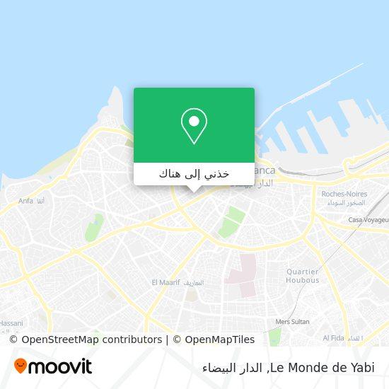 خريطة Le Monde de Yabi