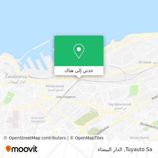 خريطة Tuyauto Sa