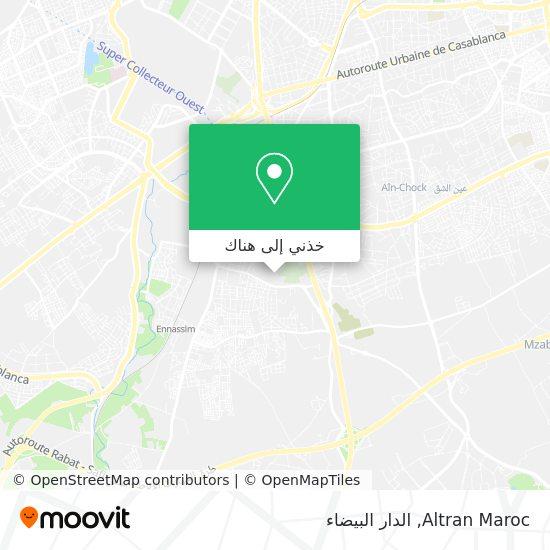 خريطة Altran Maroc