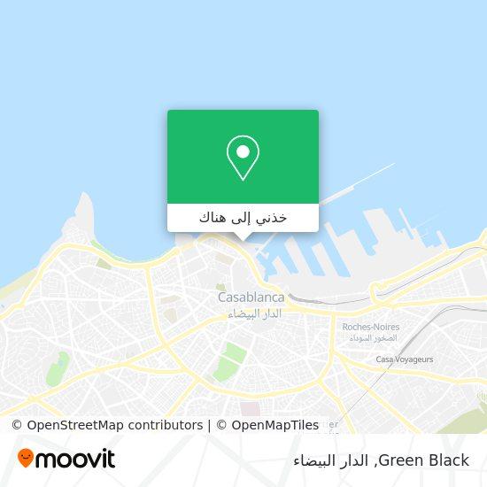 خريطة Green Black