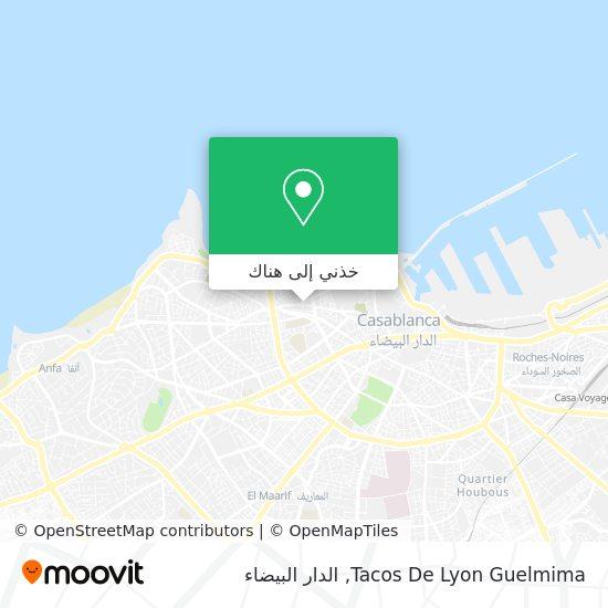خريطة Tacos De Lyon Guelmima