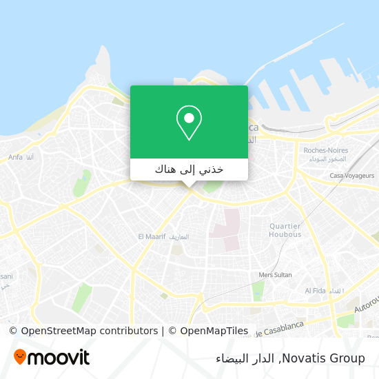 خريطة Novatis Group