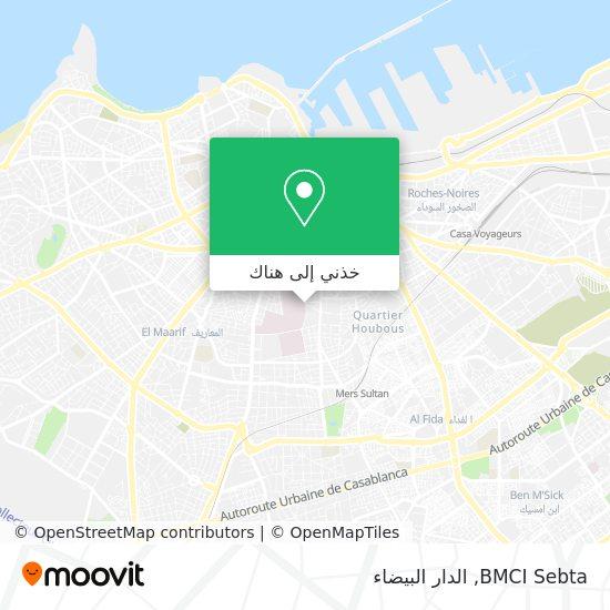 خريطة BMCI Sebta
