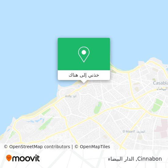 خريطة Cinnabon