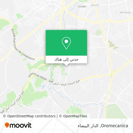 خريطة Oromecanica