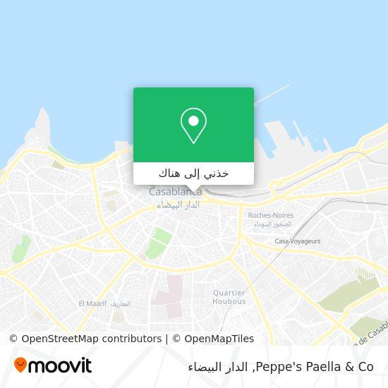 خريطة Peppe's Paella & Co