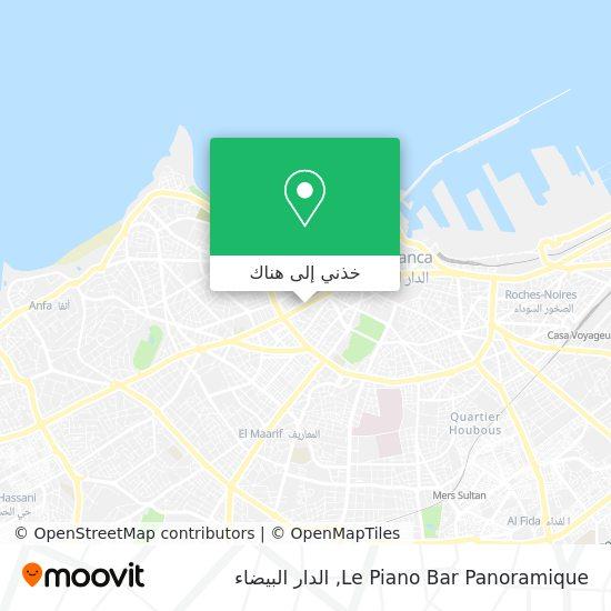 خريطة Le Piano Bar Panoramique