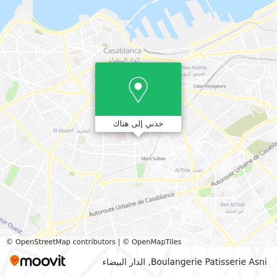 خريطة Boulangerie Patisserie Asni