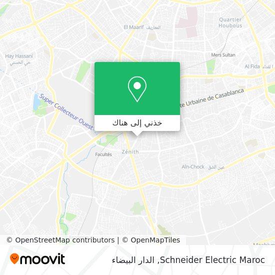 خريطة Schneider Electric Maroc