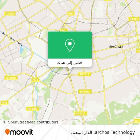 خريطة archos Technology