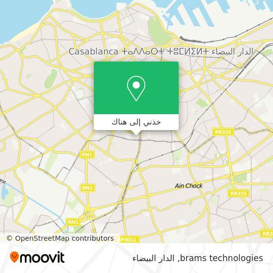 خريطة brams technologies
