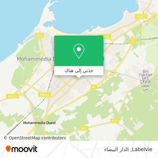 خريطة Labelvie