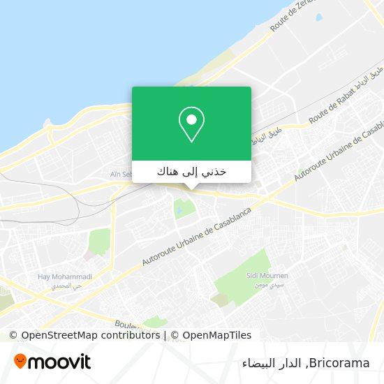 خريطة Bricorama
