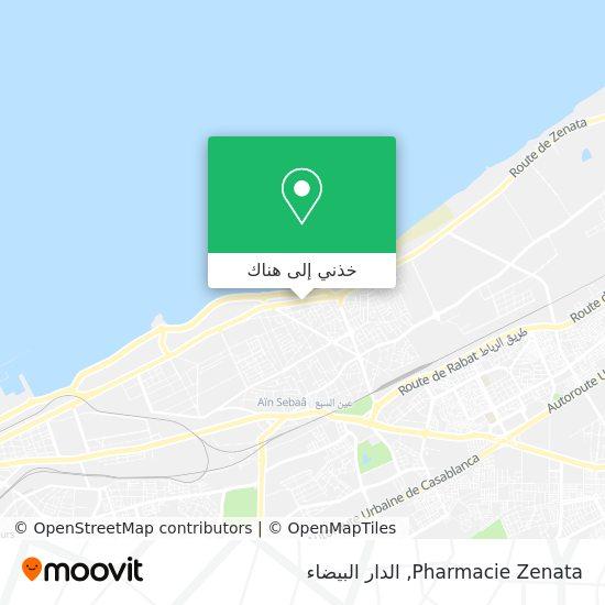 خريطة Pharmacie Zenata