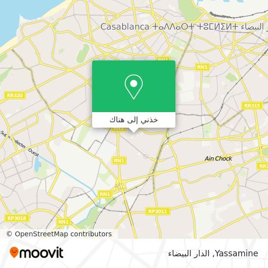 خريطة Yassamine