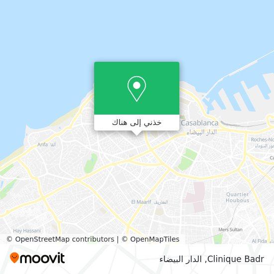 خريطة Clinique Badr