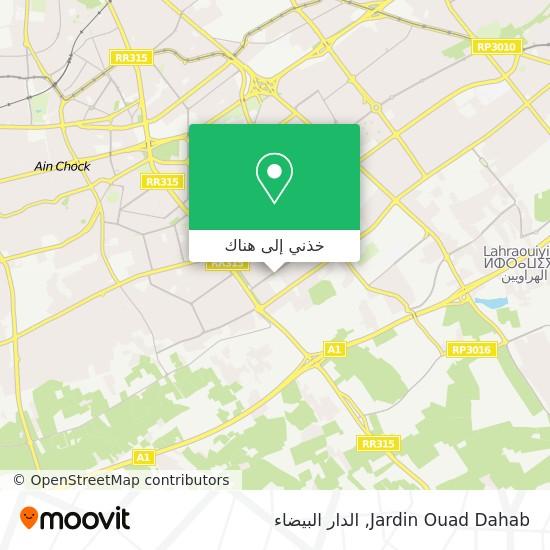 خريطة Jardin Ouad Dahab