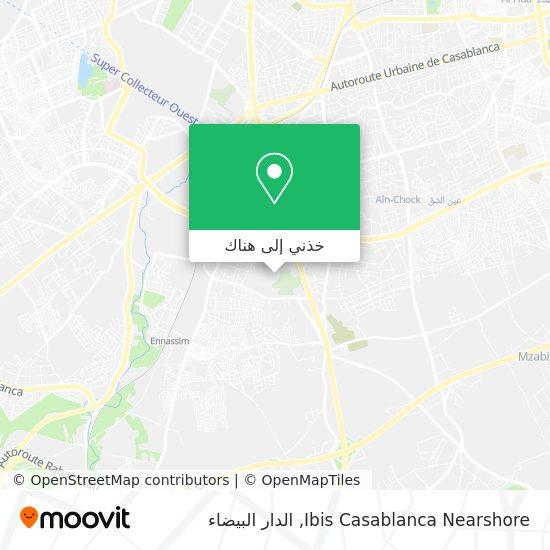 خريطة Ibis Casablanca Nearshore