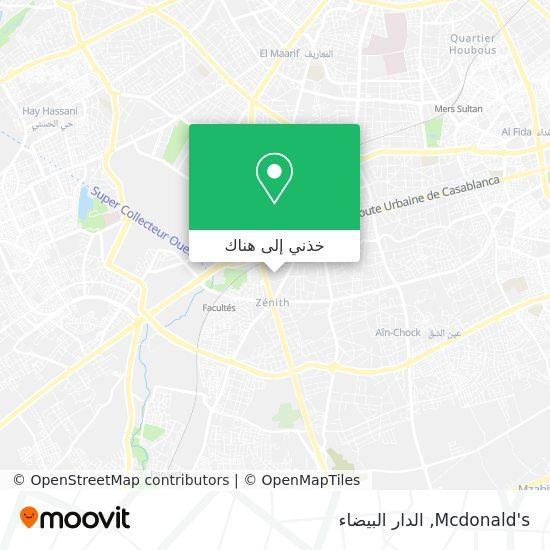 خريطة Mcdonalds