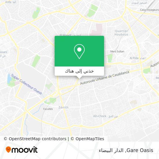خريطة Gare Oasis