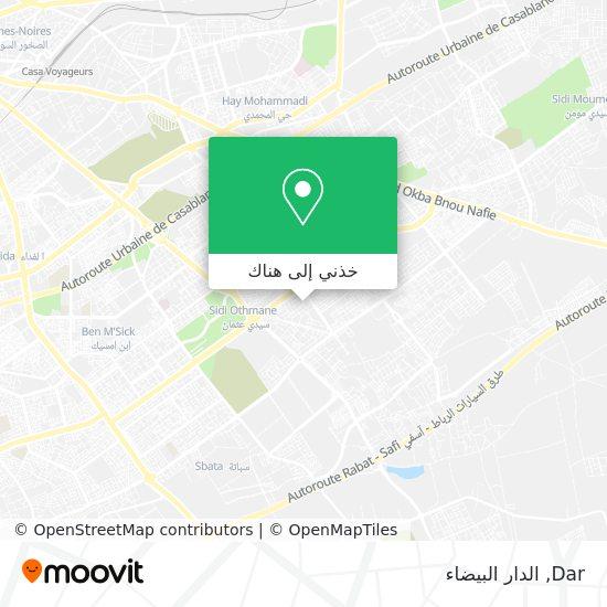 خريطة Dar