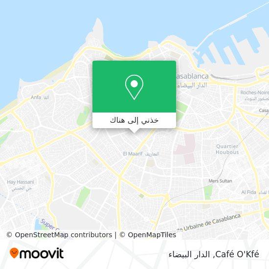 خريطة Café O'Kfé