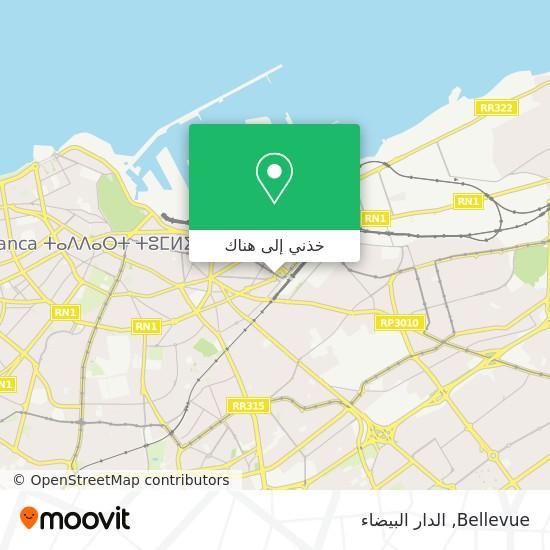خريطة Bellevue