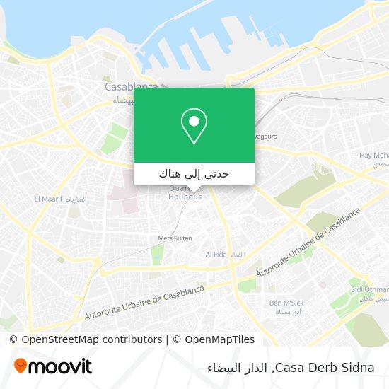 خريطة Casa Derb Sidna