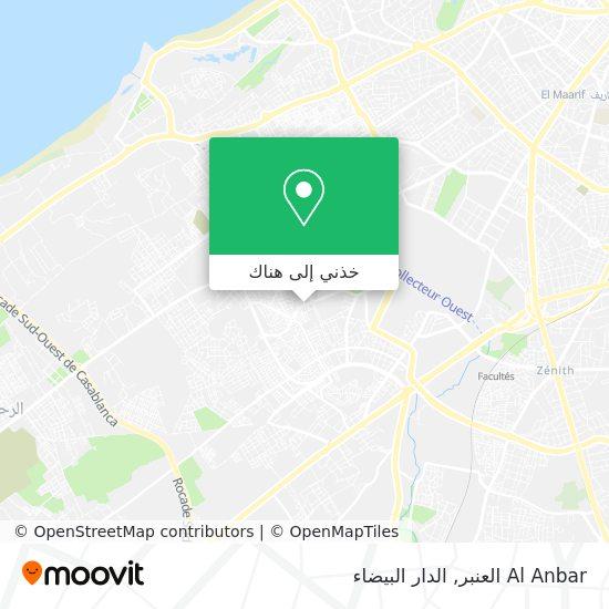 خريطة Al Anbar العنبر