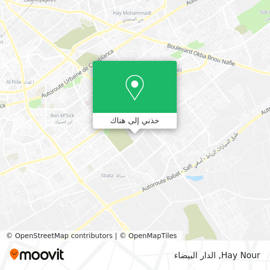 خريطة Hay Nour