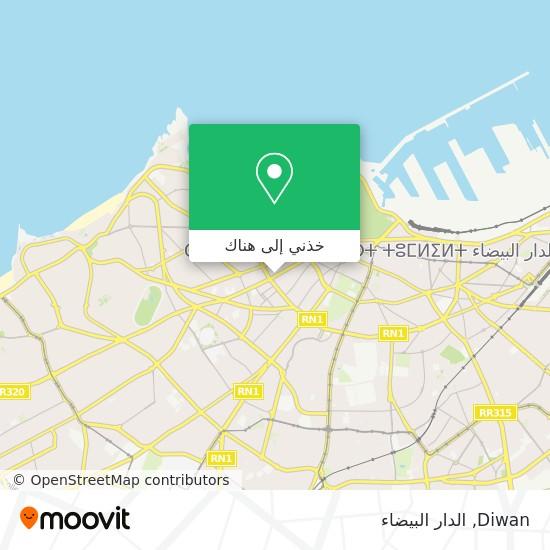 خريطة Diwan