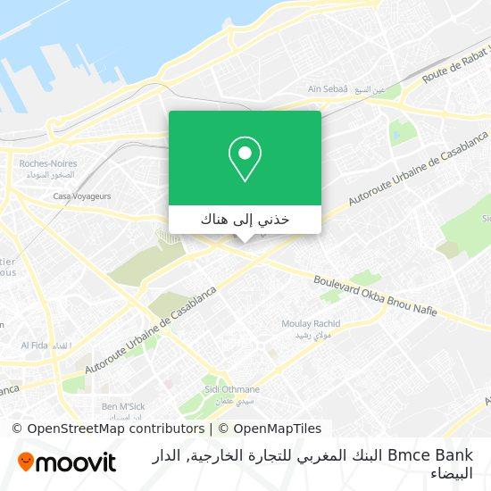 خريطة Bmce Bank