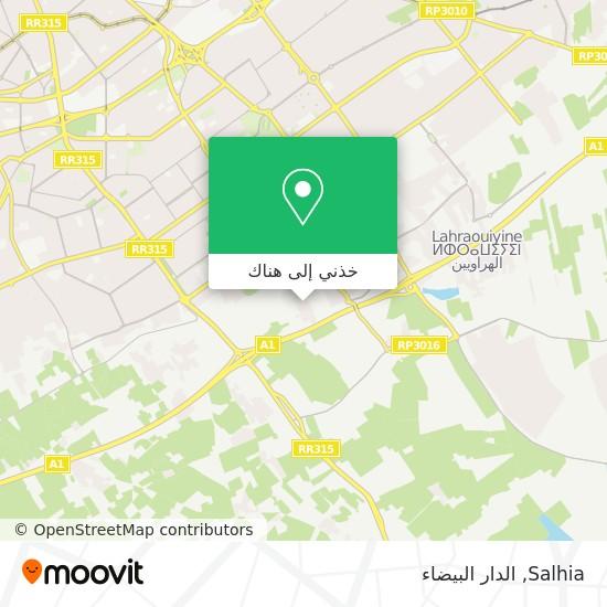 خريطة Salhia