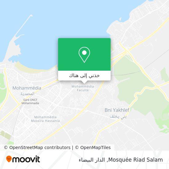 خريطة Mosquée Riad Salam