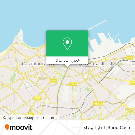 خريطة Barid Cash