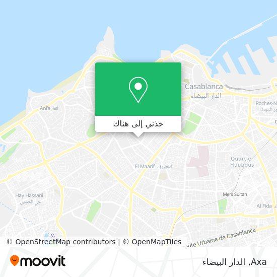 خريطة Axa