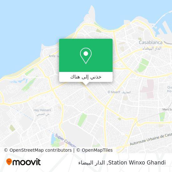 خريطة Station Winxo Ghandi