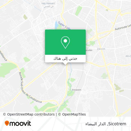 خريطة Sicotrem