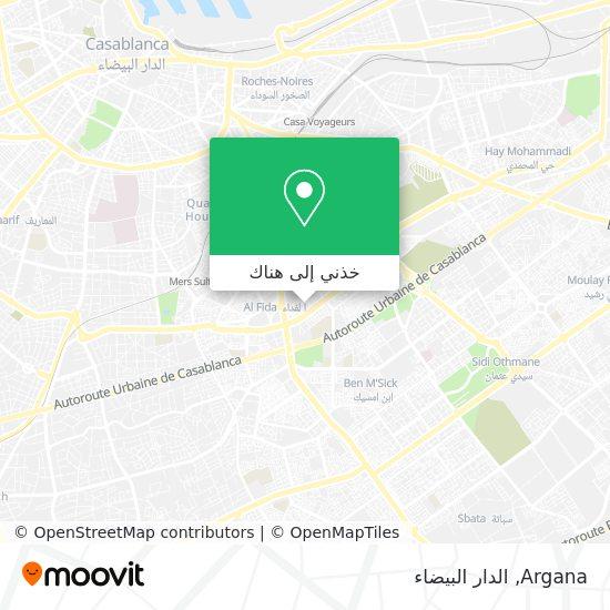 خريطة Argana