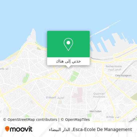 خريطة Esca-Ecole De Management