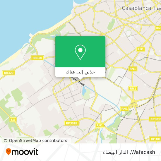 خريطة Wafacash