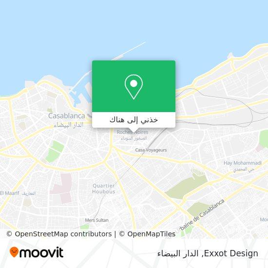 خريطة Exxot Design Sarl Au