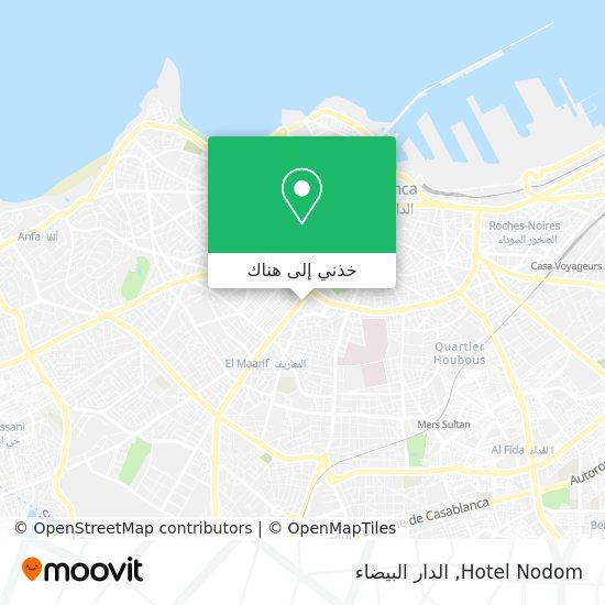 خريطة Hotel Nodom