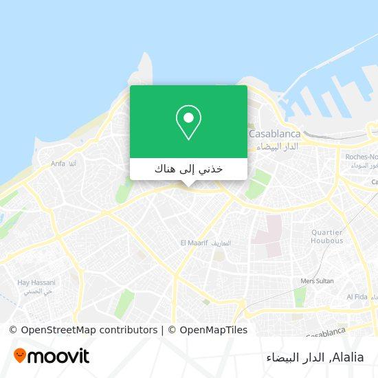 خريطة Alalia