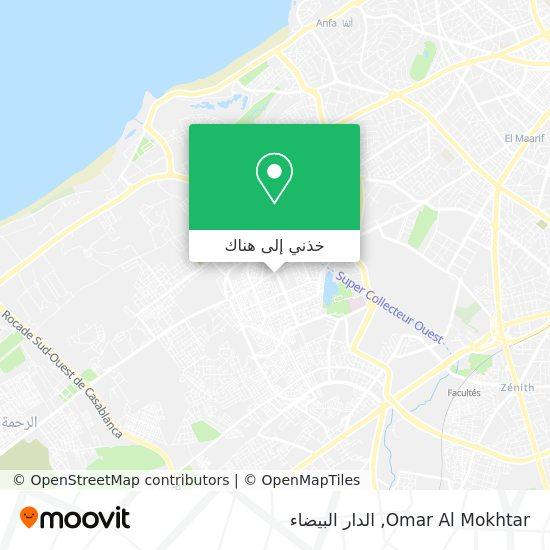 خريطة Omar Al Mokhtar