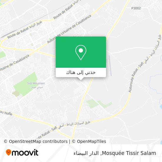 خريطة Mosquée Tissir Salam