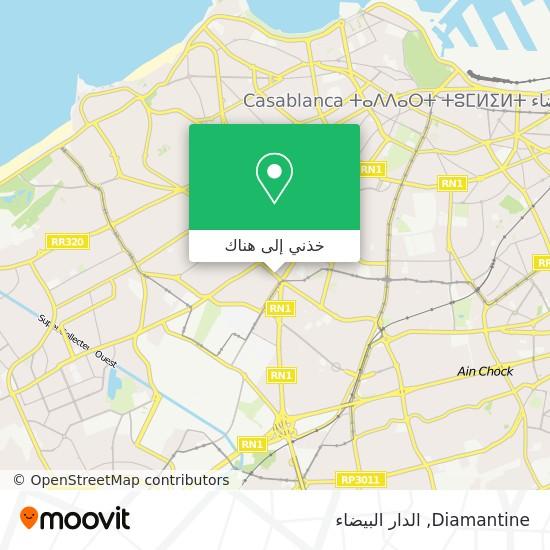 خريطة Diamantine