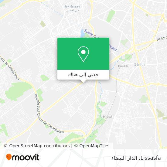خريطة Lissasfa
