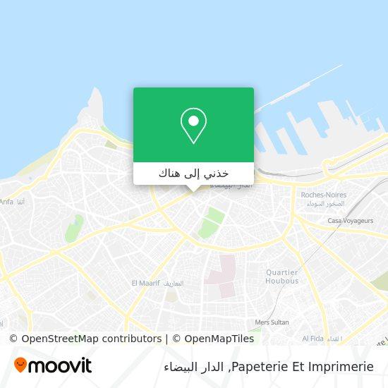 خريطة Papeterie Et Imprimerie